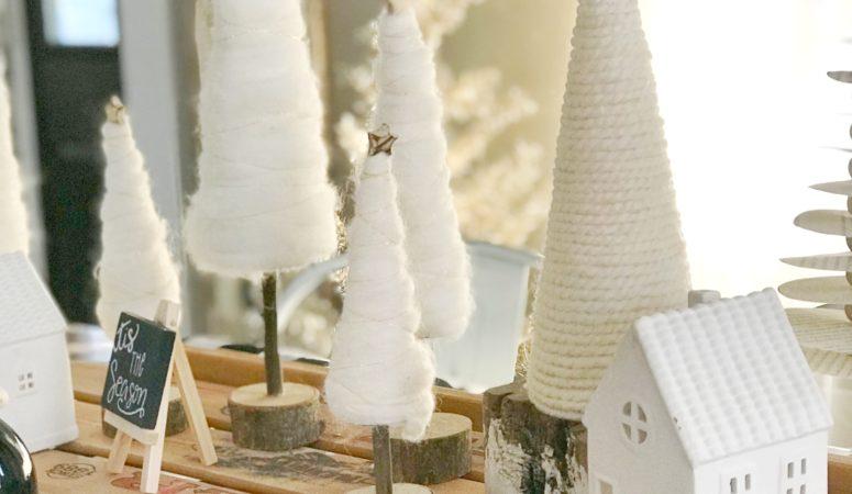 Yarn Christmas Tree Tutorial