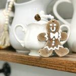DIY Gingerbread Cookie Ornaments